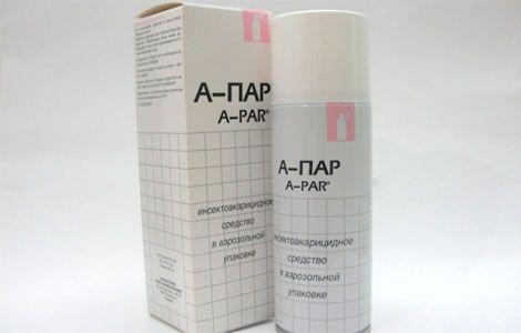 А-пар аерозоль інструкція із застосування