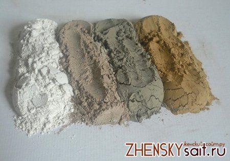 види глини