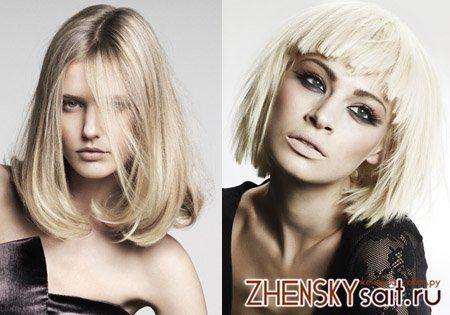 блондирование темного волосся