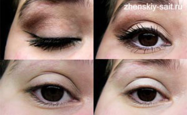 Денний макіяж для карих очей - з покроковими фотографіями