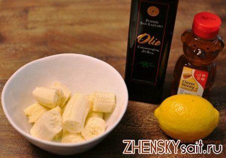 рецепт з бананами і медом