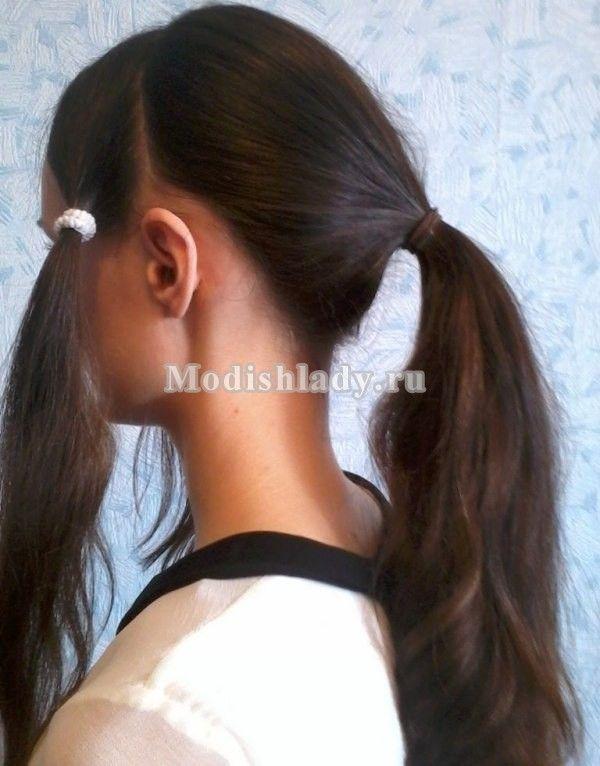 Дві модні зачіски з косами