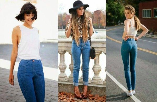 Джинси з високою талією: як підібрати і з чим носити? Приклади на фото!