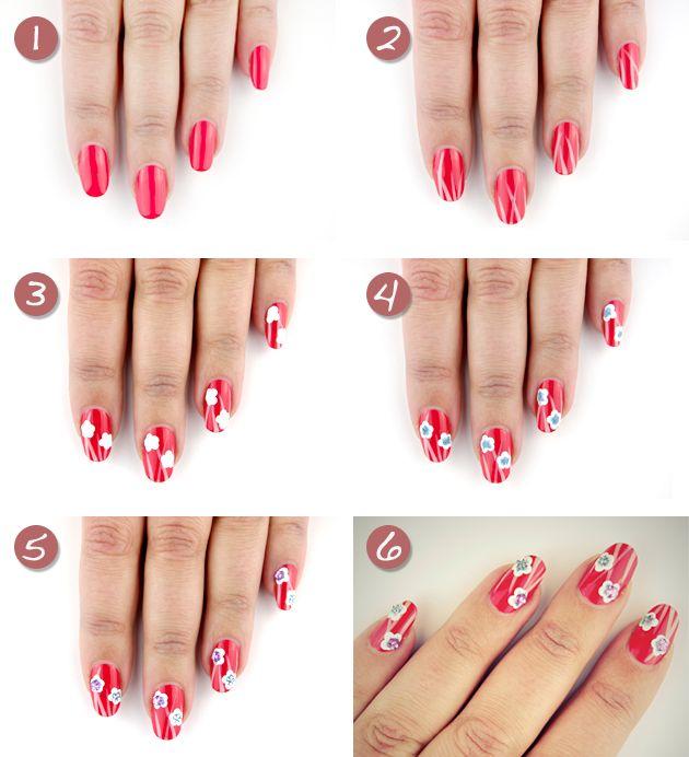 Яскравий і стильний весняний дизайн нігтів