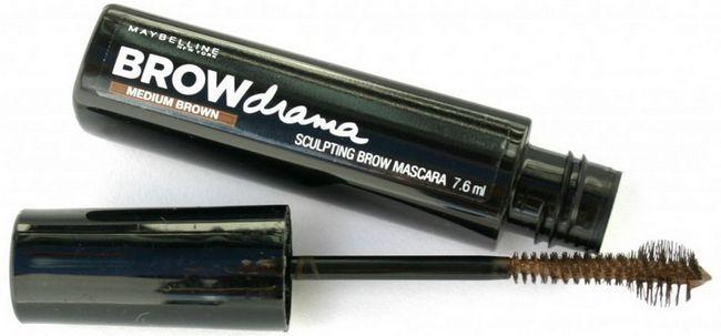 Як фарбувати брови тушшю brow drama. Відгуки