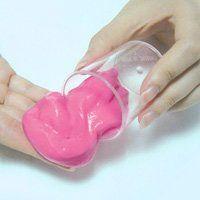 Як зробити лизуна в домашніх умовах, іграшка своїми руками