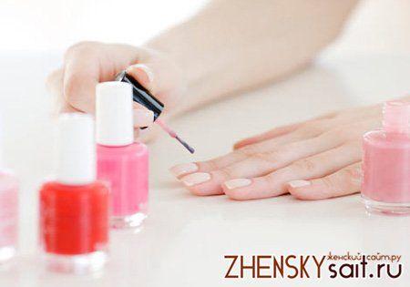 як висушити лак на нігтях швидко