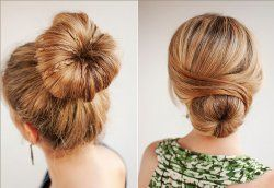 Кулінарія для голови: як зробити зачіску з бубликом?