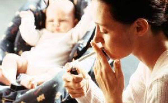 Куріння і грудне вигодовування