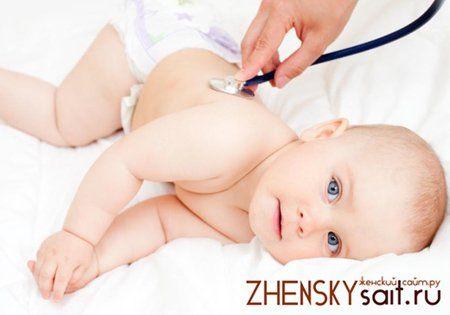 лікування горла у дітей до року