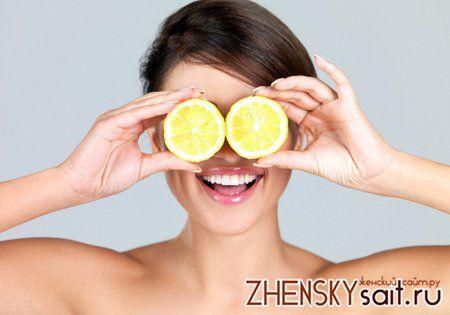 застосування лимона для шкіри обличчя