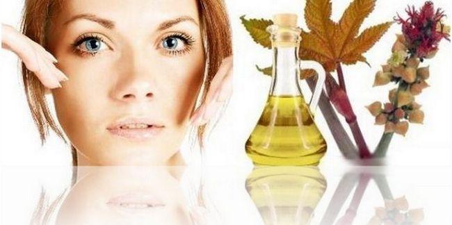 Маски для обличчя з касторовою олією