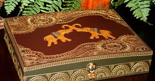 Мехенді слон на руці, спині та інших частинах тіла: значення, фото і приклади