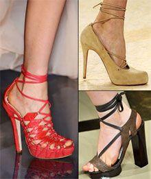 Мода літо 2009: стильна модний жіночий обувь 2009