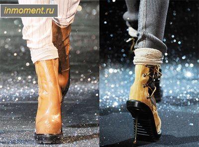Модне взуття зима 2010-2011: основні тренди, черевики, ботильйони, чоботи і ботфорти зимового сезону 2010-2011