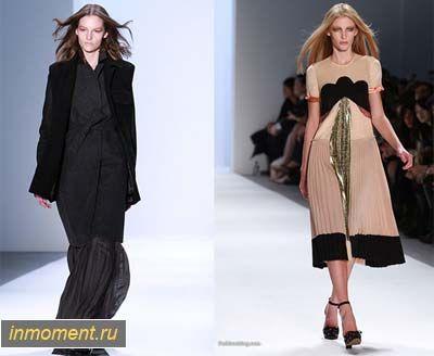 Модна осінь 2011. Основні тренди осені 2011