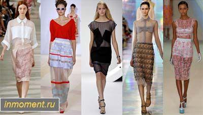 Модні блузки навесні 2013