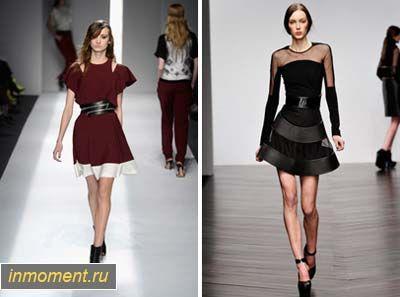 Модні сукні восени 2013