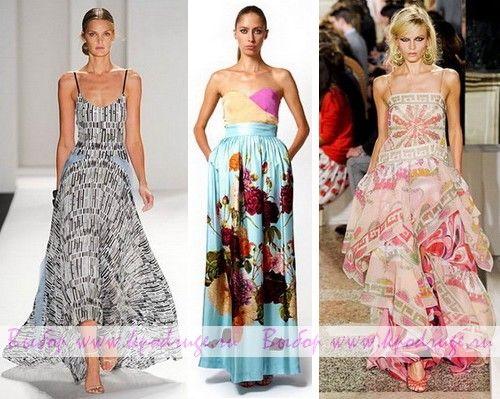 Модні сарафани весна-літо 2012 року