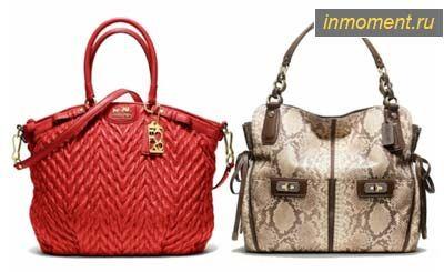 Модні сумки осінь 2012
