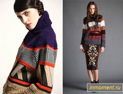 Модні светри, кардигани, пуловери зима 2015/2016
