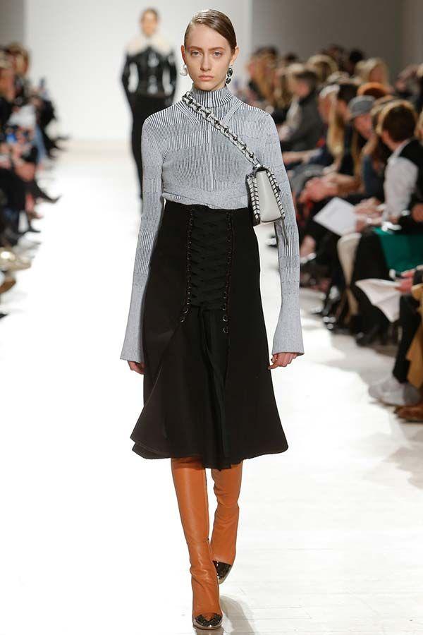 Модні тенденції осінь - зима 2016-2017: спідниці