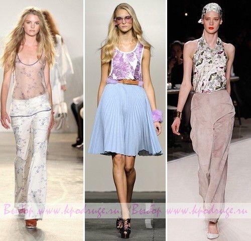 Модні топи і блузи: тенденції весна-літо 2011