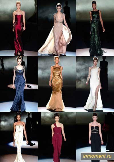 Модні вечірні сукні восени 2013