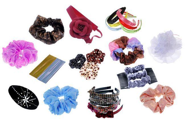 Модні жіночі аксесуари для волосся