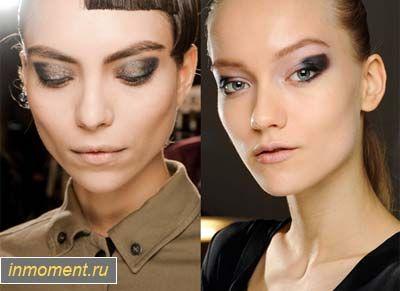 Модний макіяж зима 2013/2014