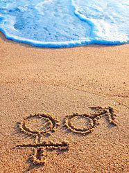 На піску, на воді, на траві ... Усюди секс!