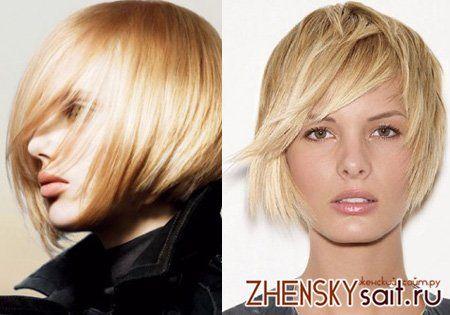 стрижки для волосся рідкої структурою