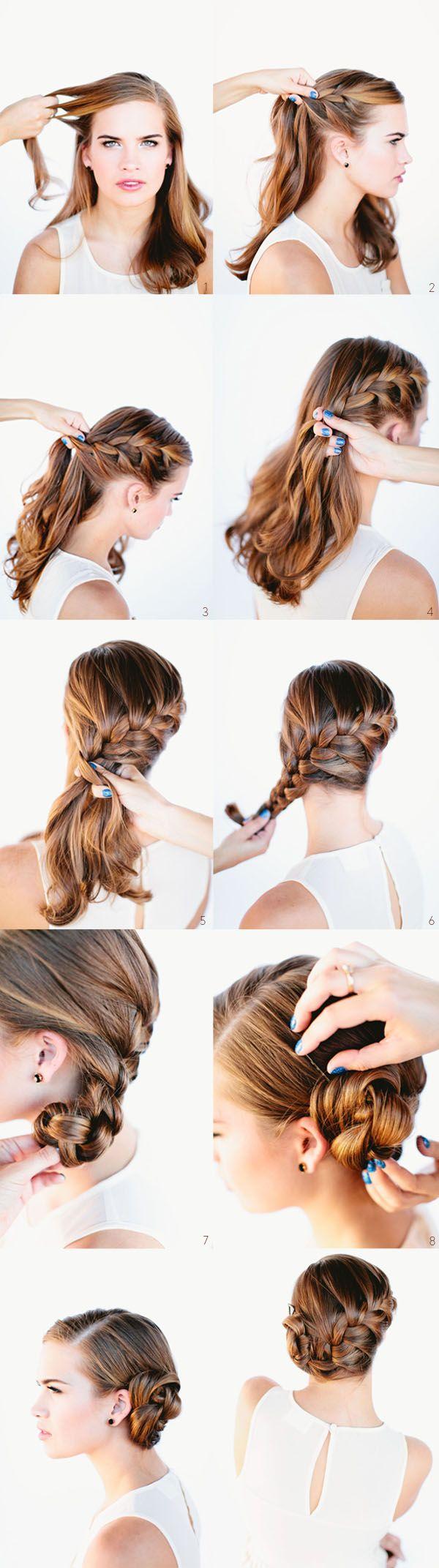 Зачіски з елементами плетіння: вечірні, весільні, на кожен день