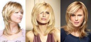 Зачіски на тонке волосся середньої довжини можуть бути і красивими, і пишними