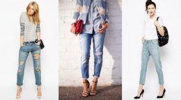 З чим носити джинси герлфренд: найяскравіші образи