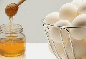 Сама собі перукар: маска для волосся мед і яйце