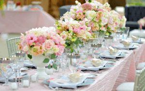 Зробіть прикраса весільного столу своїми руками і поб`єте гостей