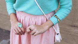 Поєднання кольорів в одязі - бірюзовий