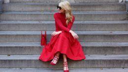 Поєднання кольорів в одязі - червоний