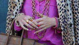 Поєднання кольорів в одязі - бузковий