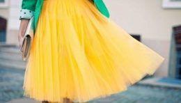 Поєднання кольорів в одязі - жовтий