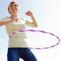 Вправи з обручем для схуднення живота і боків